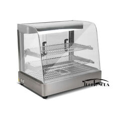 Heavy Duty Food Display Warmer 110V Commercial Wooden Package Kitchen Equipment