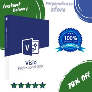 Microsoft visio 2019 Professional- Offizielles Produkt - Aktivierung- 1pc