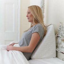 Bed Wedge Raised Pillow for Acid Reflux, GERD, Heartburn & Indigestion