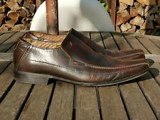 Base London Mens Dress Shoes Brown UK Size 10.5 EUR 45