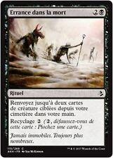 MTG Magic AKH - (x4) Wander in Death/Errance dans la mort, French/VF