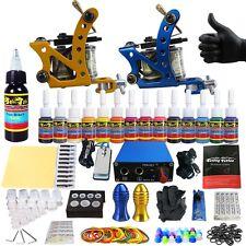 Solong Tattoo Complet Kit de Tatouage 2 Machine à Tatouer 14 Encre Ink TK203-37
