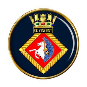 Hms St.Vincent, Reale Blu Scuro Spilla