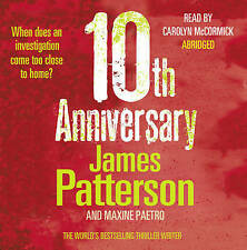 JAMES PATTERSON, 10TH ANNIVERSARY Audio CD