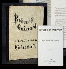 1855 Robert und Guiscard Joseph Freiherr von Eichendorff EA