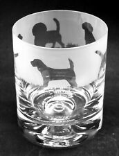More details for beagle frieze boxed 30cl glass whisky tumbler