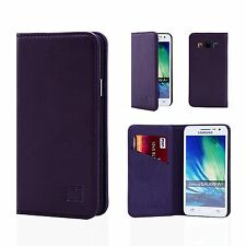 32nd Classic Series - Real Leather Book Wallet Case Cover for Samsung Galaxy S6
