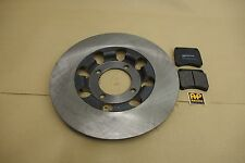 TRIUMPH T140 TR7 T150 T160 CLASSIC LIGHTENED BRAKE DISC AND AP RACING PADS