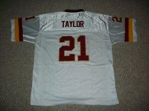 SEAN TAYLOR Unsigned Custom Washington Sewn White New Football Jersey Size S-3XL
