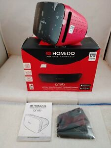 Homido Grab 3D Virtual Reality Headset VR Games & 3D Movie iOS & Android NEW