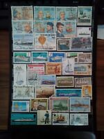 Schiffe Barcos Ships Briefmarken Stamps Timbre Sellos