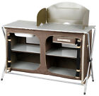 Oztrail Camping Camp Kitchen Double Pantry Table Brnew Ebay