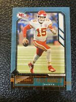 2020 Playbook Football Patrick Mahomes Orange Parallel SP #8 Kansas City Chiefs