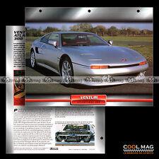 #023.02 ★ VENTURI ATLANTIQUE 300 1996 ★ Fiche Auto Car card