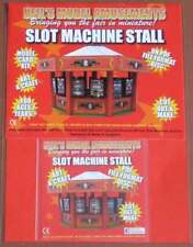 Fairground Slot Machine Stall Model Card Kit on PDF Disc + A4 Card