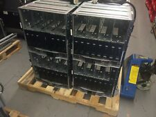 Lot of 4-HP BLc7000 Blade Chassis 507019-B21 3PH w/6 power supplies & 10 Fans