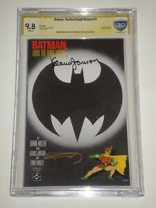 Batman: The Dark Knight Returns 3 (May 1986) CBCS 9.8 Signed by Frank Miller