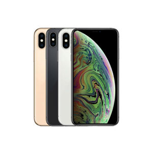 Apple iPhone XS Max - 64GB - All Colors - Fully Unlocked - Very Good Condition