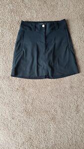Nike Golf Women's Skort Tour Performance Dri Fit Skirt Shorts black Size 0