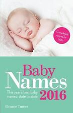 Baby Names 2016: This Year's Best Baby Names: State to State, Turner, Eleanor,19