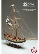 "Beautiful, Intricate Wooden Model Ship Kit by Corel: the ""King of Prussia"""