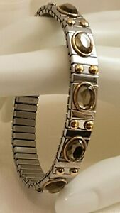 Bracelet Smoky Topaz Hypoallergenic Jewelry Mother Best gift for Mom 2.5ct Hmade