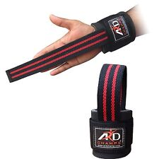 ARD™ Weight Lifting Padded Bar Straps Gym Bodybuilding Wrist Support Wraps