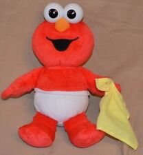 "11"" Baby Elmo Sick Sneezes Button On Nose 2011 Hasbro Sesame Street Interactive"