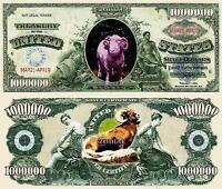BELIER - BILLET MILLION DOLLAR US ! SIGNE ASTROLOGIQUE ASTROLOGIE ZODIAQUE ASTRO