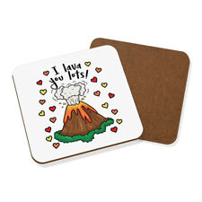Yo te muchas bebidas Posavasos de lava Mat-Divertido Día de San Valentín Amor Novia Amor