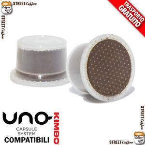 100 Cialde Capsule Caffè Miscela Cremoso Intenso compatibili UnoSystem *