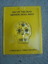 Grande 2-Sided Sugar Skull Mold  - Dia de los Muertos