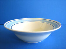 Cereal Bowl Primitif Hearthside Museum Collection Blue Band Country House Scene