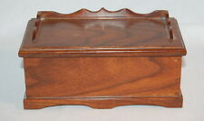VINTAGE MINIATURE SWEETHEART CHEST 1990 HANDMADE CEDAR CHEST BY C-CRAFTED # 8D