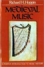 Medieval Music (The Norton Introduction to Music History)-ExLibrary