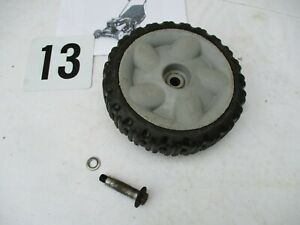 FRONT WHEEL & AXLE BOLT HAYTER R53S RECYCLING CODE 448F