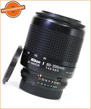 Nikon 80-200 mm F4.5-5.6 D Téléobjectif Autofocus Zoom Lens + GRATUIT UK ENVOI