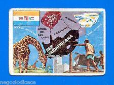 LA TERRA - Panini 1966 - Figurina-Sticker n. 302 - REPUBBLICA SADAFRICANA -New