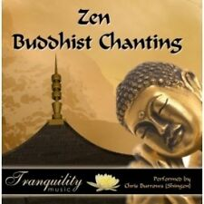 ZEN BUDDHIST CHANTING - CHRIS BURROWS  CD