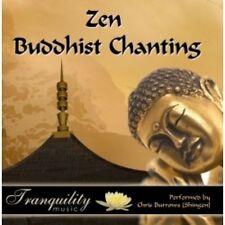 ZEN BUDDHIST CHANTING - CHRIS BURROWS  CD