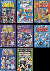 Childrens Favourites DVDs Wiggles Fireman Sam Bob the Builder ----- (select dvd)