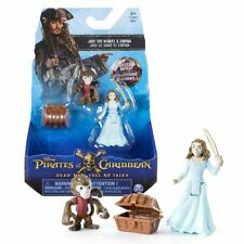Pirates Of The Caribbean Salazar's Revenge - Jack The Monkey & Carina Figure