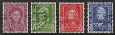 Germany Scott B310-B313 / Michel 117-120: 1949 Welfare Semi-Postal, VF-CDS