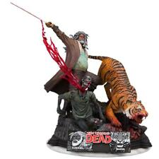 THE WALKING DEAD Ezekiel and Shiva Resin Statue