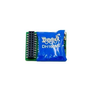 Digitrax DH166MT   Decoder New! HO Scale!  6 Function Bob The Train Guy