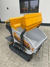 Mini Dumper Powdered barrow Lumag VH500PROA 500kg Track Barrow Loader