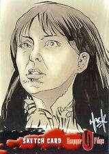 Hammer Horror Series 2 Sketch Card drawn by Robert Hack /6