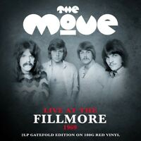 THE MOVE - LIVE AT THE FILLMORE 1969 2 VINYL LP NEU