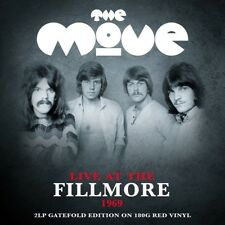 THE MOVE - LIVE AT THE FILLMORE 1969 2 VINYL LP NEW+