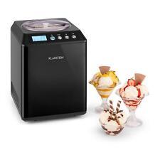 Eismaschine Eiscreme Bereiter Frozen Yoghurt Icecream Maker 2,5 Liter schwarz